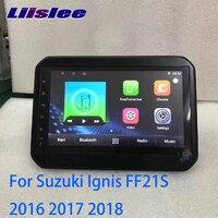 LiisLee Car Multimedia GPS Audio Radio Stereo For Suzuki Ignis FF21S 2016 2017 2018 Original Style Navigation NAVI