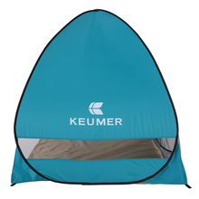 KEUMER Automatic Beach Tent for 2 Person UV Protection Outdoor Instant Pop-up Summer tent shade Shelter for Camping Fishing