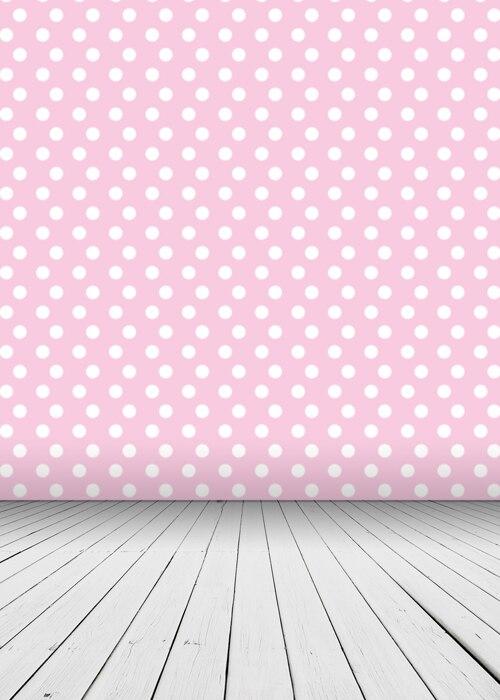Huayi Pois Rosa Con Piano Arte Modello Tessuto Sullo Sfondo