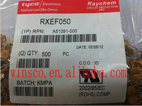RXEF050 100% NOVA SÉRIE TYCO FUSE POLYSWITCH RXE 0.50A RXE050