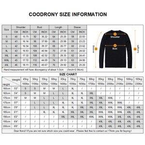 Image 5 - COODRONY marka koszula męska bawełniana koszula z długim rękawem mężczyźni jesień sukienka męskie koszule na co dzień Streetwear moda Camisa Masculina 96068