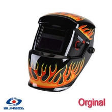 Quality Solar Auto darkening welding helmet electric hood mask  tig,mig , arc face shields wholesale distributor