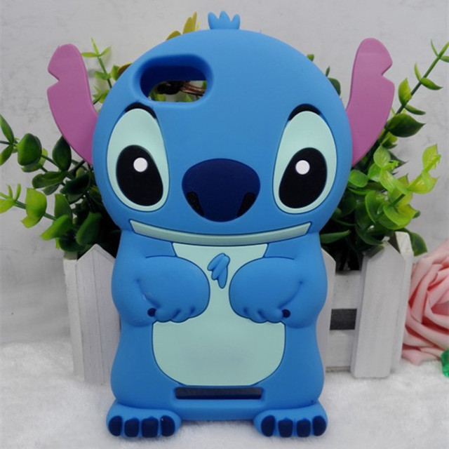 Luxury case etui  for WIKO LENNY3 JERRY stitch case 3D curt cartoon cover silicon gel rubber coque capa shell for wiko lenny 3