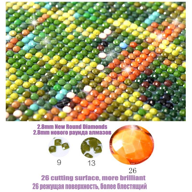 5D полный картина, вышитая бисером Landscap Алмазная вышивка мозаики Декор для дома ДПИ горячий воздух воздушный шар подарок