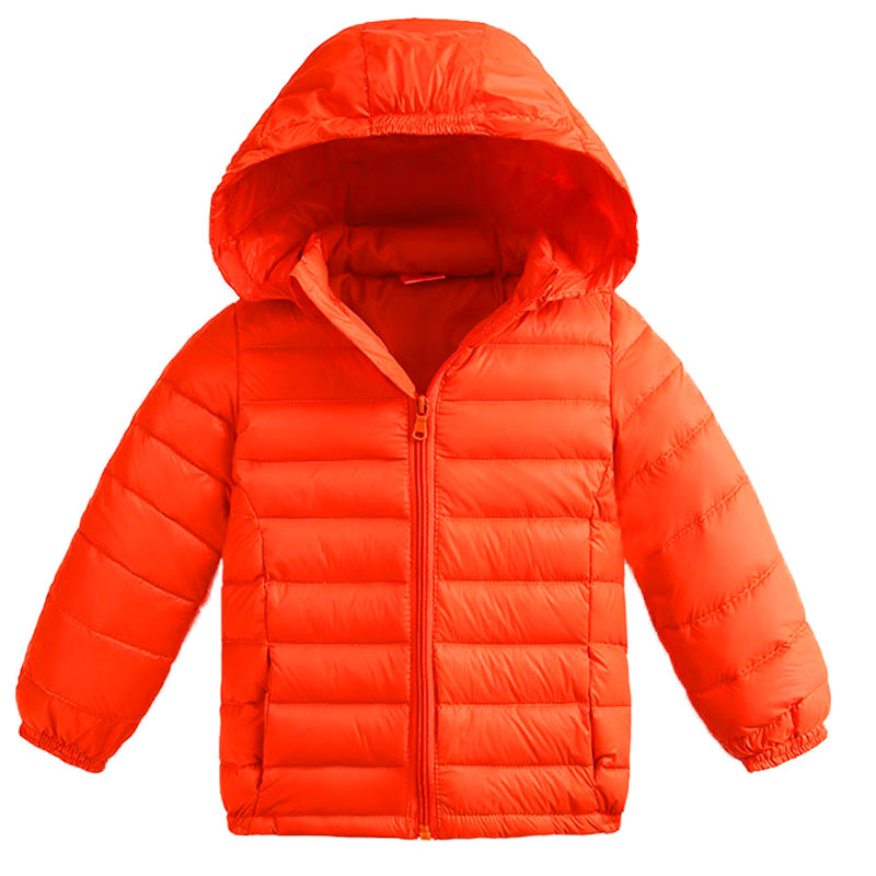 Removable Cap Children Down Jacket Light Colors Boys And Girls Baby Hooded Winter Coat Children Outerwear Winter Jackets Coats a15 girls jackets winter 2017 long warm duck down jacket for girl children outerwear jacket coats big girl clothes 10 12 14 year