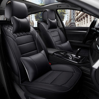 Car Wind Universal Leather Auto Car Seat Covers For Daewoo Nubira Racer Gentra Rezzo Dodge Journey