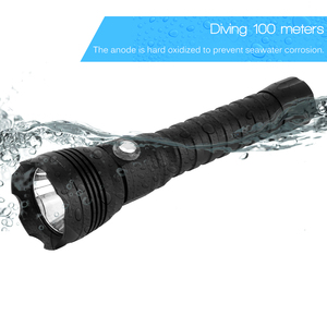 Image 2 - BORUiT A28 XHP70.2 LED Tauchen Taschenlampe Unterwasser 100 M Taschenlampe Max 100 00 lumen 4 Modus Dive Laterne dive durch 26650 Batterie