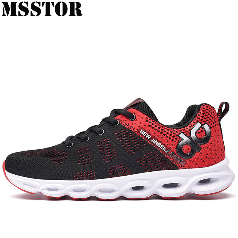 MSSTOR Men Running Shoes Man Brand Outdoor Athletic Women Running Shoes Summer Breathable Mesh Lovers Sport Shoes Mens Sneakers camel shoes 2016 women outdoor running shoes new design sport shoes a61397620
