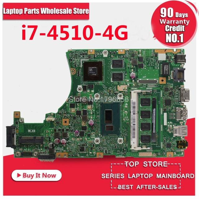 X455LD X455LJ Laptop motherboard fit for ASUS W419L Y483L F455 W409L X455L A455L motherboard original motherboard i7 cpu tested laptop cpu cooling fan for asus x455ld x455cc a455 a455l k455 x555 sunon mf60070v1 c370 s9a