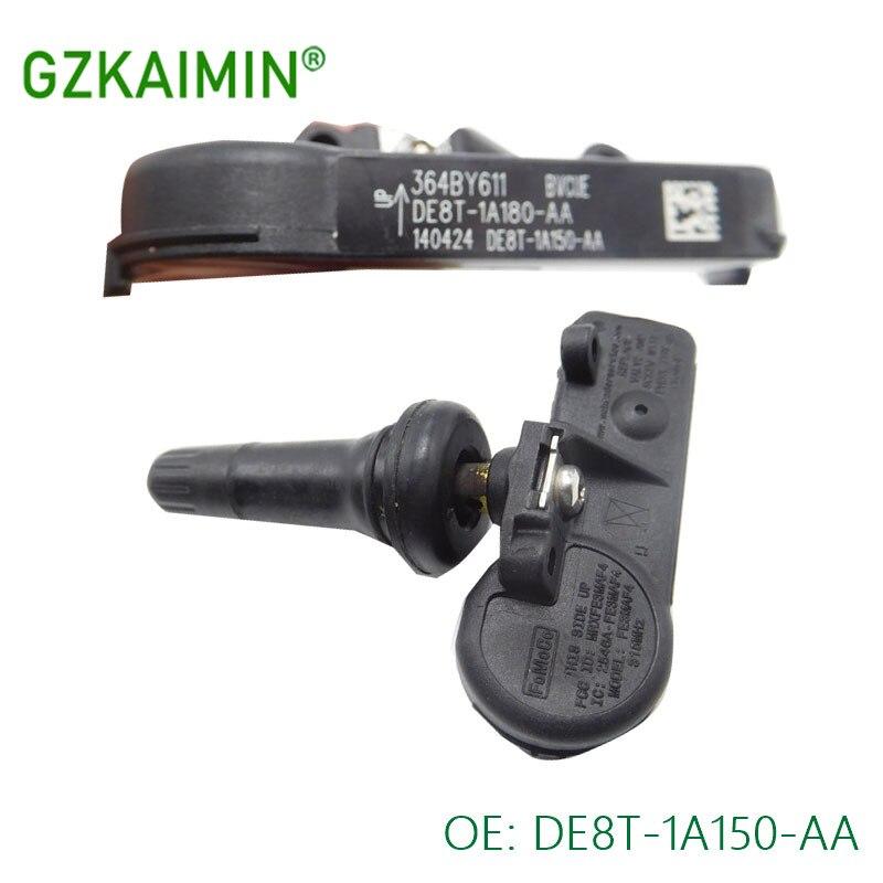 SET 4 Tire Pressure Monitoring Sensor TPMS For Ford Lincoln TPMS 12 DE8T 1A150 AA DE8T1A180AA