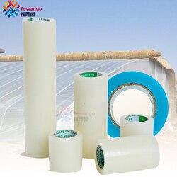 Tewango szklarnie taśma naprawcza 10 CM/20 CM/30 CM x 10M bardzo mocny klej Mylar naprawa rolka UV łatka przezroczystą niebieską narzędzia ogrodnicze