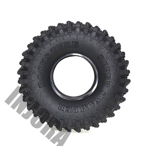 "Image 4 - 4PCS 120MM 1.9 ""גומי סלעים צמיגים/גלגל צמיגי 1:10 RC Rock Crawler הצירי SCX10 90046 AXI03007 D90 D110 TF2 Traxxas TRX 4"