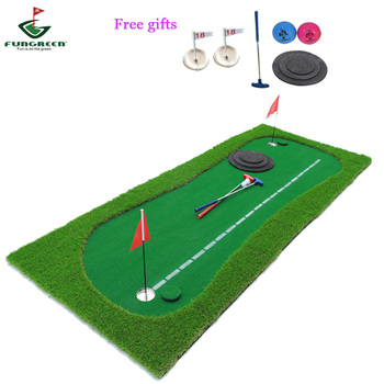 75*300 centimetri Golf putting green con un po 'di trasporto regali