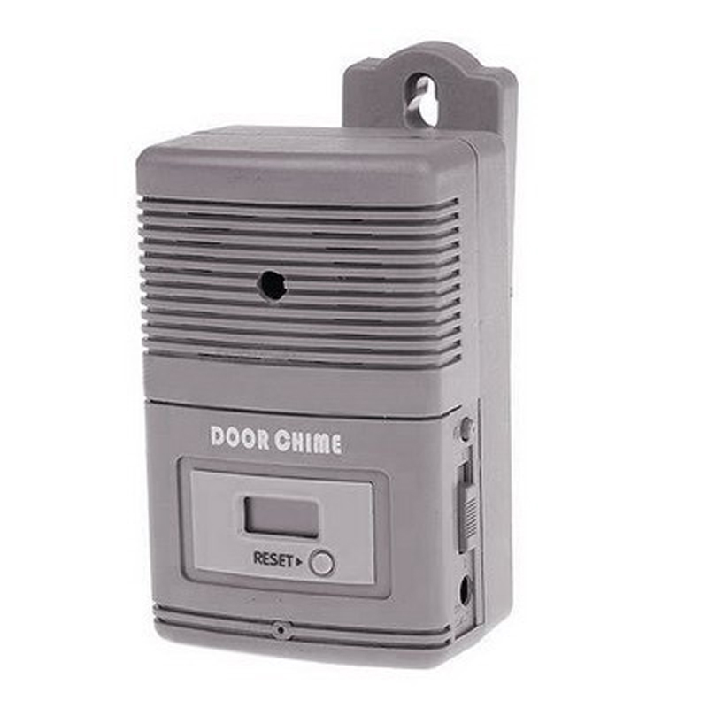 Light Sensitive And Motion Activated Visitor Door Chime Doorbell With 0.7 Inch LCD Counter New