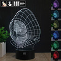 Star Wars emperor 3D Night Light RGB Changeable Mood Lamp LED Light DC 5V USB Decorative Table Lamp Get a free remote control