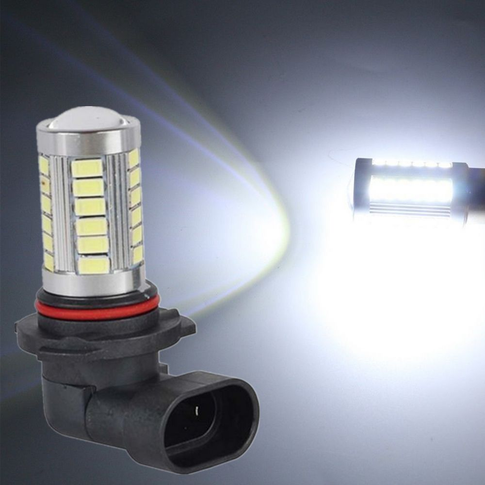 купить CYAN SOIL BAY 9006 HB4 White 33SMD 33 SMD Vehicle Fog Driving Light DRL LED Bulbs Lamp Lens 12V 24V по цене 96.68 рублей