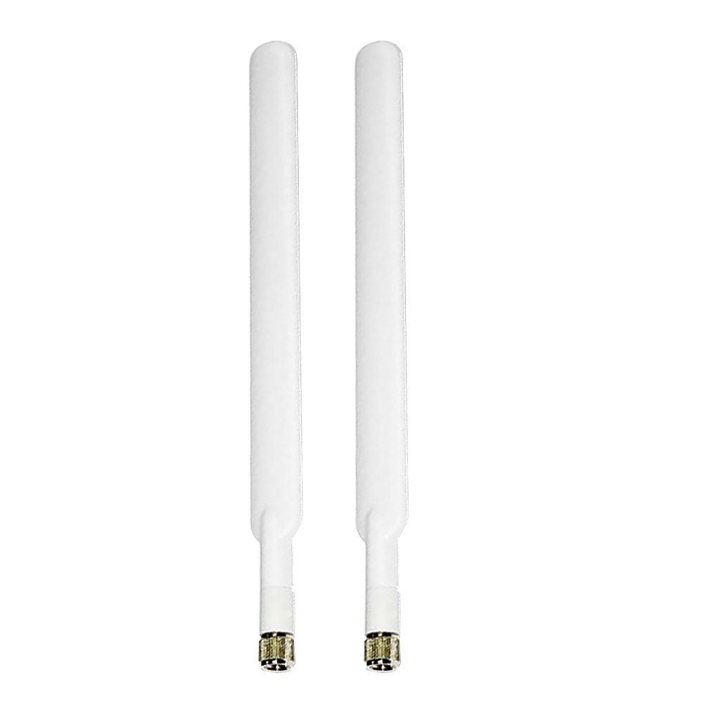 2PCS High  4G LTE Durable External Router SMA-Male White Antenna Signal Booster 5dBi WIFI Connector For Huawei B315 B310