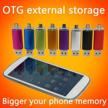 Smart Phone USB Flash Drive 1TB 2TB Pen Drive 8GB 16GB 32GB 64GB 128GB OTG Pendrive External Storage Micro Usb Memory Stick Gift