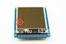 "3.2 ""TFT LCD מודול + פנל מסך מגע + PCB לוח כחול SSD1289 עם SD כרטיס חריץ 65K צבעים"