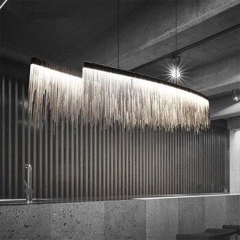 Lámpara moderna iluminación para salón dormitorio comedor Lustre de ...