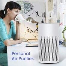 ホット 3 で 1 ミニ空気清浄機フィルターポータブル静音ミニ空気清浄機個人のデスクトップ空気清浄、家庭、仕事のため、