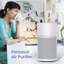 hot 3 In 1 Mini Air Purifier With Filter   Portable Quiet Mini Air Purifier Personal Desktop Ionizer Air Cleaner,For Home, Work,