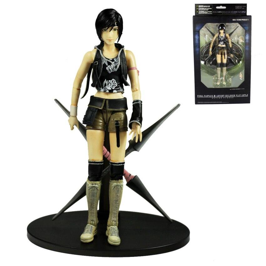 Square Enix Final Fantasy VII Advent Children Yuffie Kisaragi Action Figure 7.5 APL012029