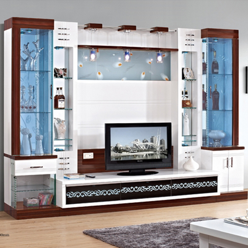 Tv cabinet cover tv cabinet modern brief fashion glass cabinet ...