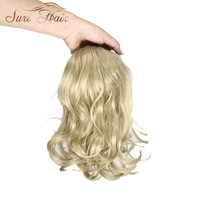 Suri Hair 12 Inchs Wavy Hair 9 Colors Available Synthetic Hairpiece Ponytail Extensions Wig Clip In