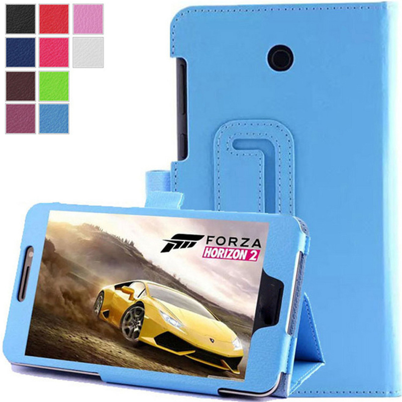 Stand PU Leather Tablet Case Cover For Asus FonePad 7 FE375CG FE375CXG FE375 K019 Luxury e-Book Protective Shell 7.0 inch luxury flip stand case for samsung galaxy tab 3 10 1 p5200 p5210 p5220 tablet 10 1 inch pu leather protective cover for tab3