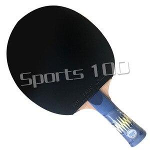 Image 3 - Raqueta Pro Combo YINHE W6, hoja de tenis de mesa con Palio AK47, goma con esponja, color amarillo y azul Palio AK47