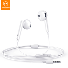 Mcdodo Wired Earphone In Ear Headset With Music Stereo Bass Sound 3.5mm Jack Earphone Earbuds Earpiece For iPhone Samsung Huawei стоимость