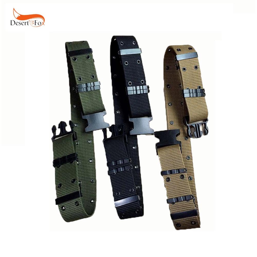 3 Color S Outside Belt Tactical Belt Army Combat Thickening Belts Adjust Emergency Rigger Survival Waist Belt Military Equipment