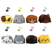 8Pcs/Set Music Puppy Singing Dog Music Electronic Dog Cat Educational Toys for Children Kids Birthday Festival Party Gifts(China)