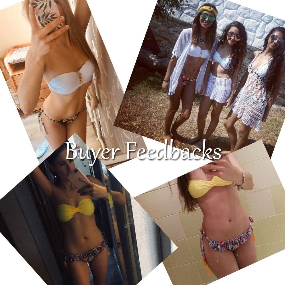 Brazilian Bikini set String Reversible Bathing Suit Halter High Neck Bikinis Women Swimwear Swimsuit Biquinis maillot de bain 5