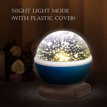 Stars Sky LED Light Up Toy Projector Moon Novelty Toys Glow In The Dark Toys For Kids Baby Children Sleepings Christmas Gift