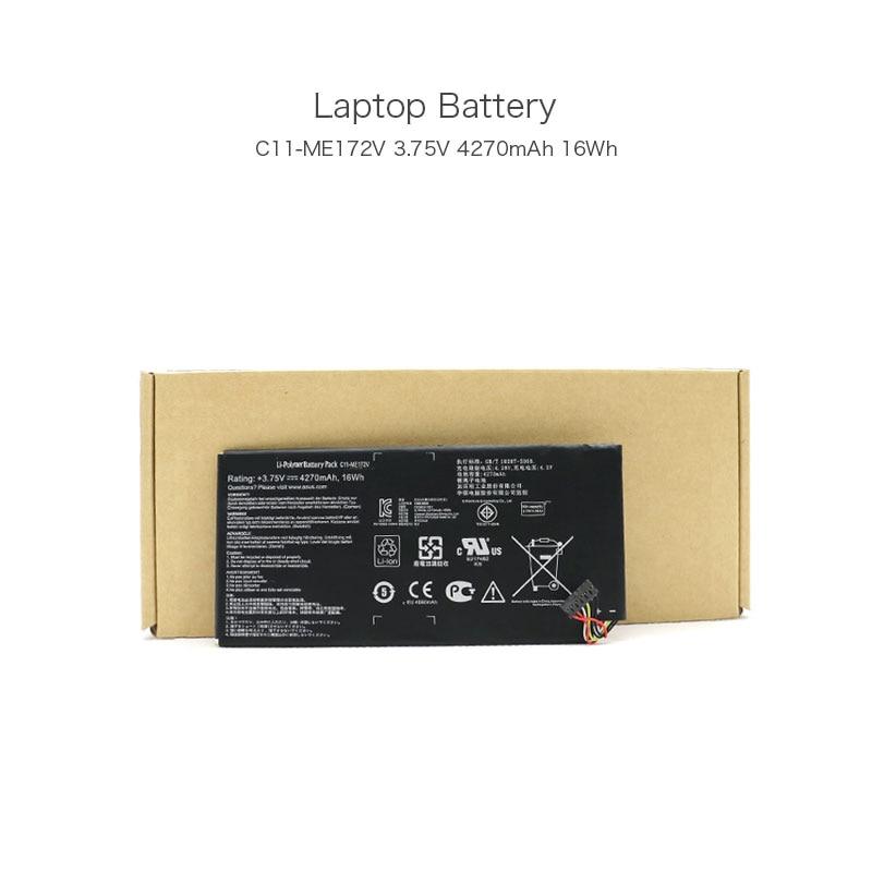 3.75 V 4270 mAh 16Wh C11-ME172V Batteries D'ordinateurs Portables pour ASUS Fonepad 7in phablet ME371MG Memo Pad ME172V Tablet Li-ion Batterie