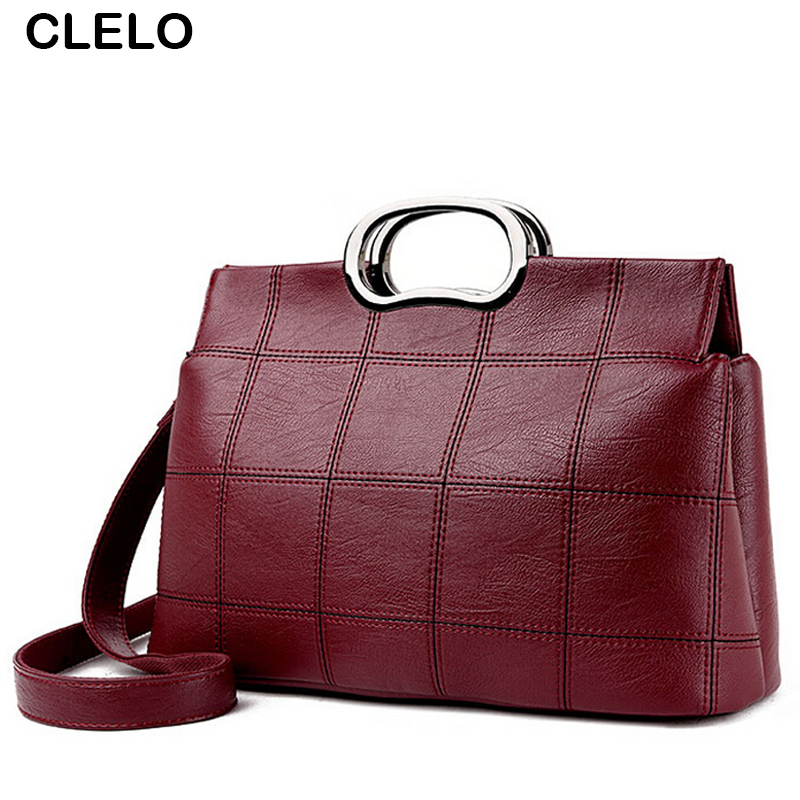 CLELO Designer Office Bag Female Shoulder Bags Women Handbags Tote Fashion Crossbody Purse Bolsa feminina Handbag Casual Totes