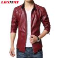 LONMMY M-6XL Leather jacket men coat Men Clothes Slim mens leather jackets and coats jaqueta de couro spring jacket Suede 2016