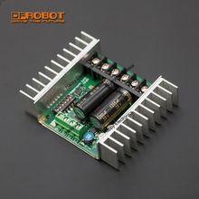 Saberteeth المزدوج 25A جهاز تحكم في محرك التيار المستمر 6 ~ 24 فولت متزامن التجدد الحرارية + حماية التيار الزائد للروبوت عالية الطاقة