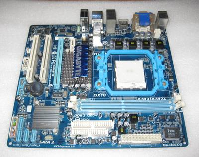 GA-MA78GME-S2H DDR2 AM2 AM3 integrated A78G support plate  цены