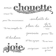 Chouette Joie Transparent Clear Silicone  Stamp Seal  DIY Scrapbooking photo Album Decorative
