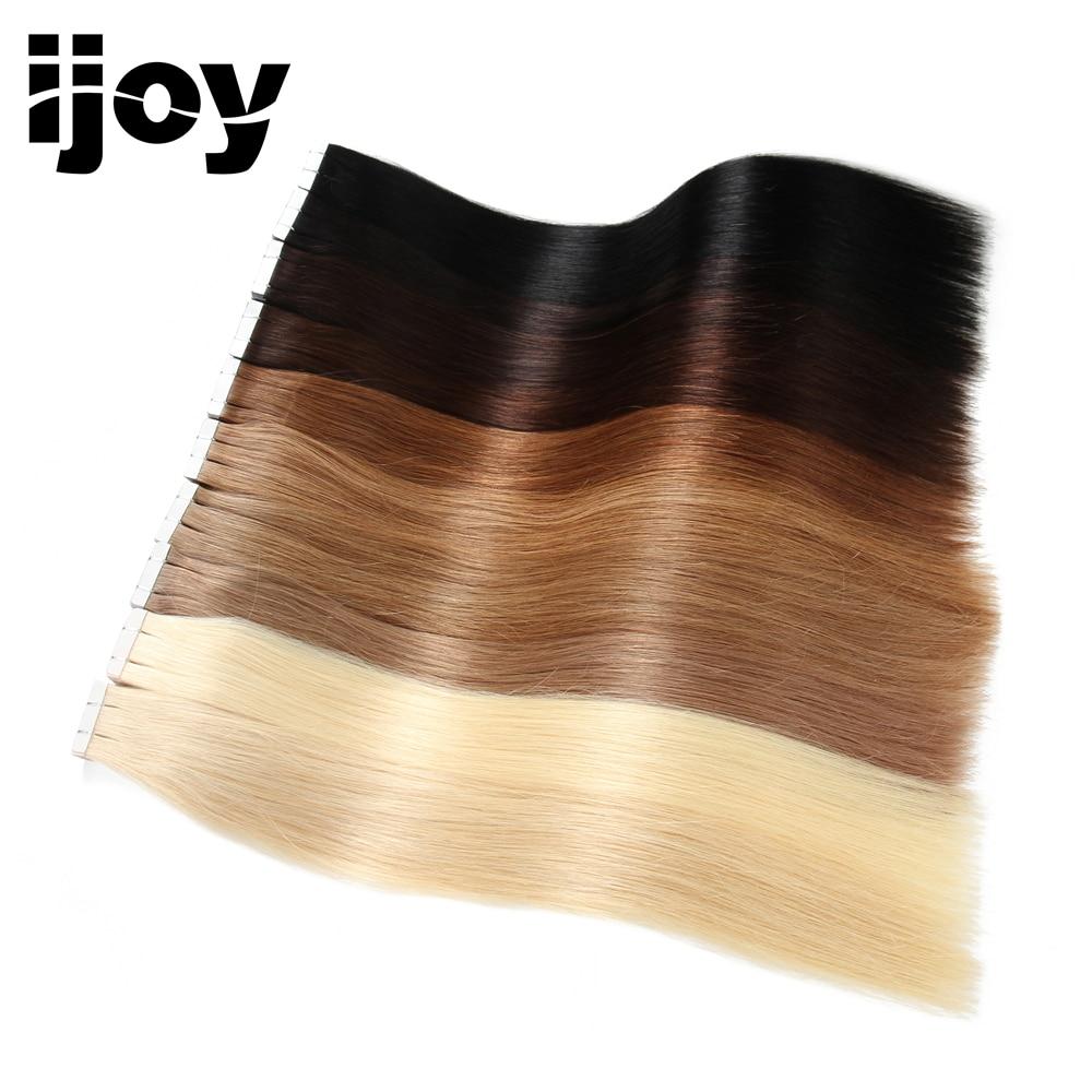 IJOY 2G / gab. Remy Natural taisni Brazīlijas mati 18