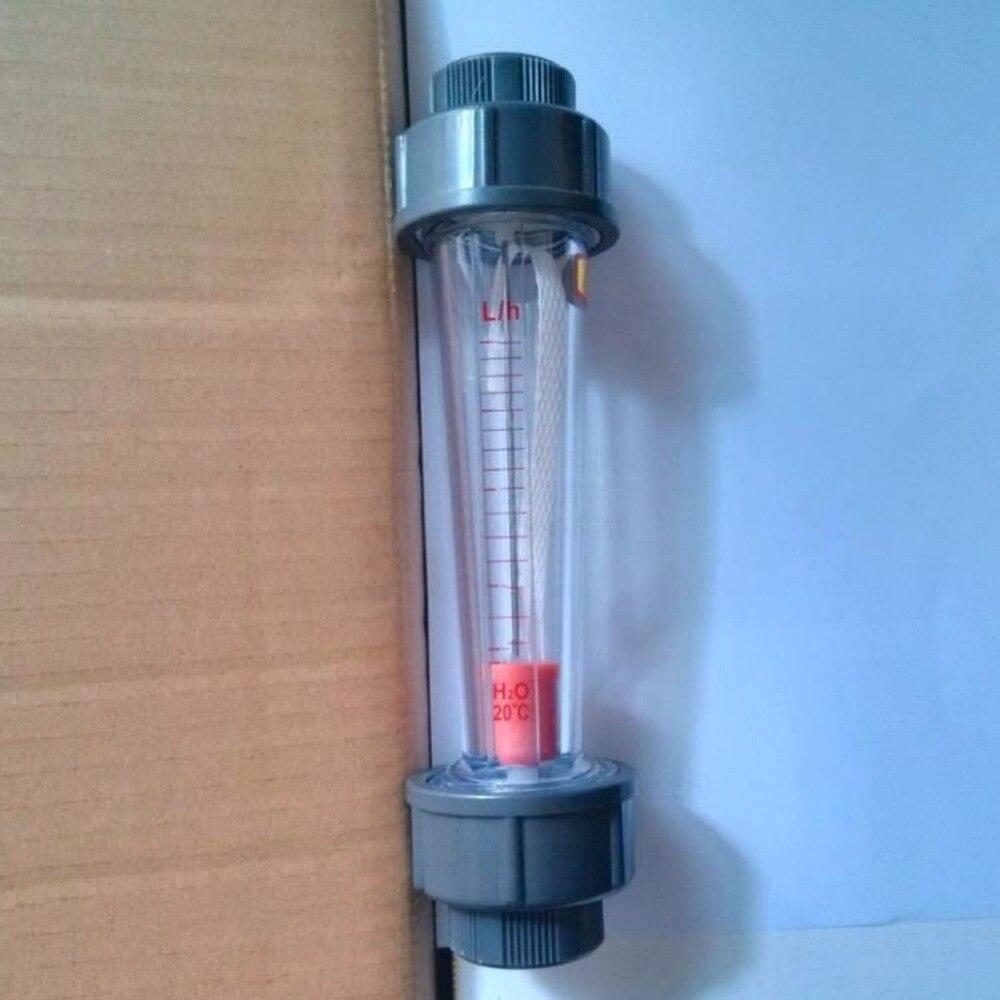 LZS 50(0.6 6m3/h) plastic tube type series rotameter flow meter Tools Measurement Analysis Flow Measuring Instruments FlowMeters