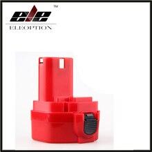 Eleoption 1300 mAh 12 V ni-cd 1.3Ah batería recargable de la herramienta eléctrica del reemplazo para Makita 192681-5 1220 1233 1201 1222 1223 1235