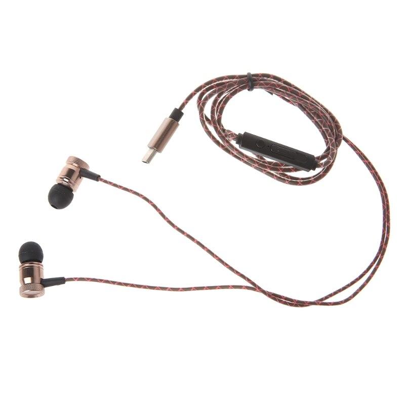 ALITER sztereó fülhallgató C-típusú fülhallgató mikróval Huawei P20 ... 0813e6a088