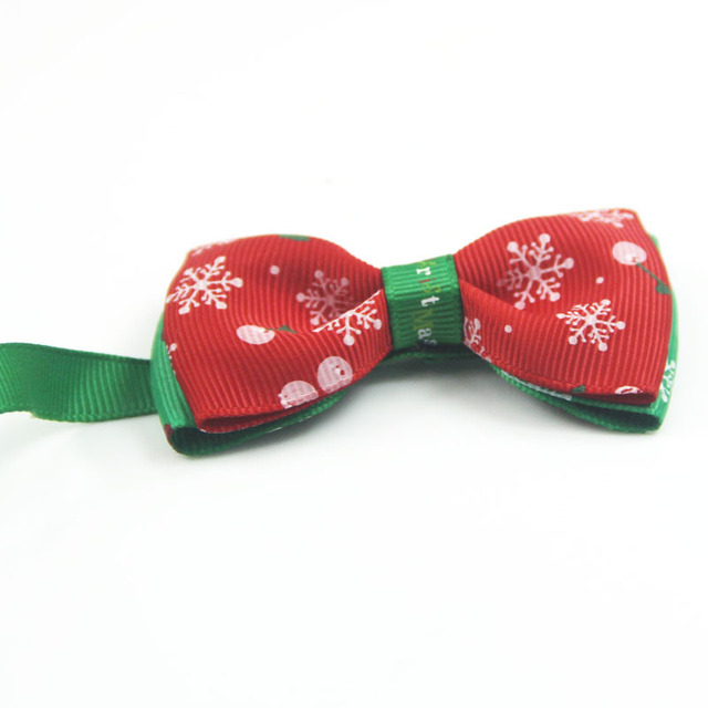 Christmas Style Dog's Bowtie