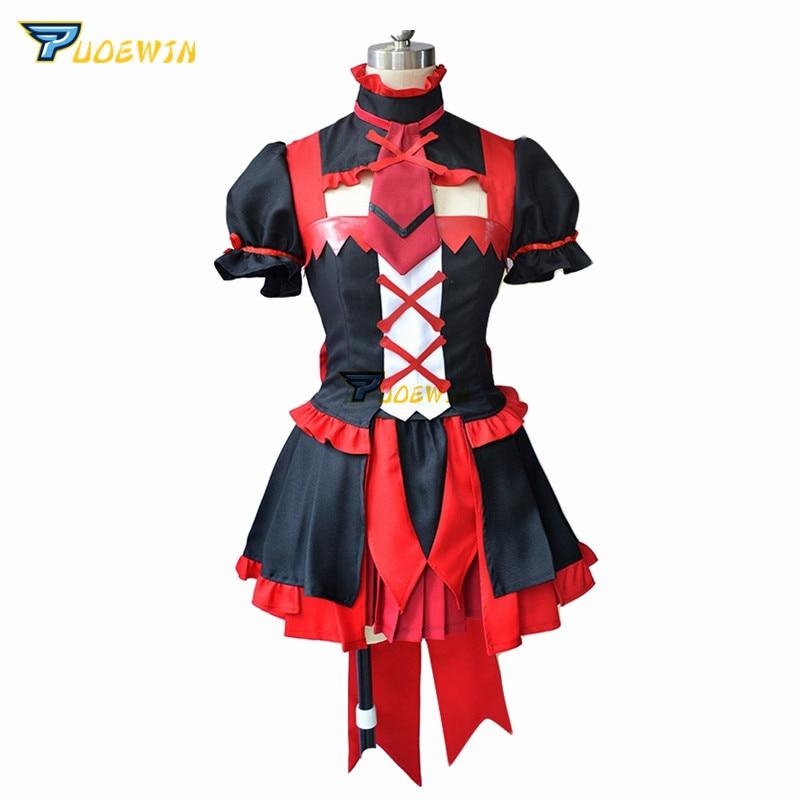 Anime Gate Jieitai Kanochi nite Kaku Tatakaeri Rory Mercury Cosplay Costume