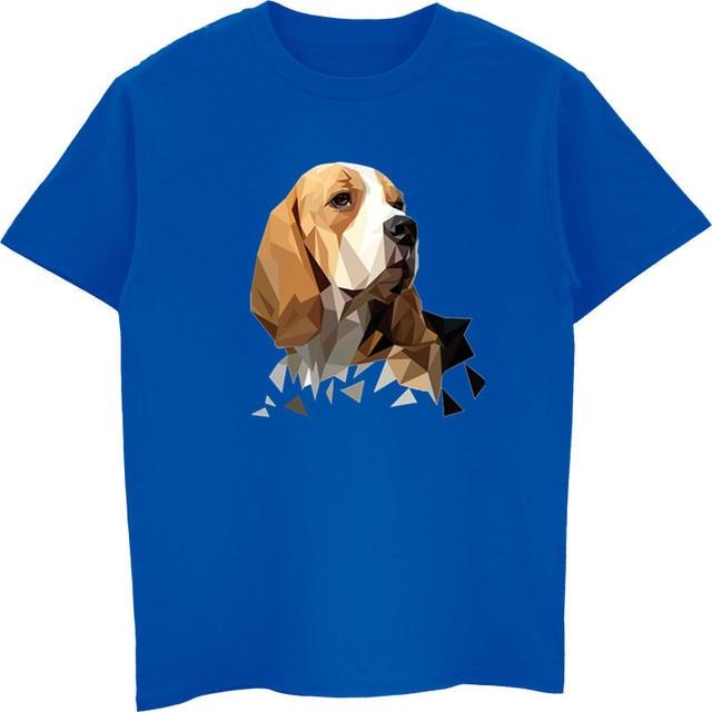 276977ee5 New Beagle Dog Head Fashion T Shirts Youth Cotton Short Sleeve T-Shirt  Popular Youth Tee Shirt Design Harajuku Streetwear