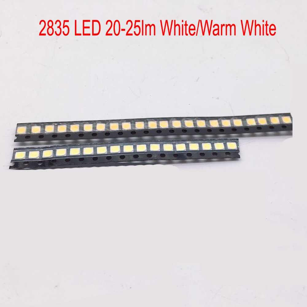 100 pcs 0.2 W SMD 2835 LED Lamp Kraal 20-25lm Wit/Warm Wit SMD LED Kralen LED Chip DC3.0-3.6V voor Alle soorten LED Licht